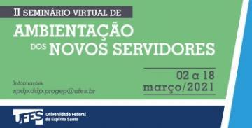 II Seminário Virtual de Ambientação